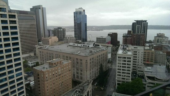 The Westin Seattle: Great views on #31 floor