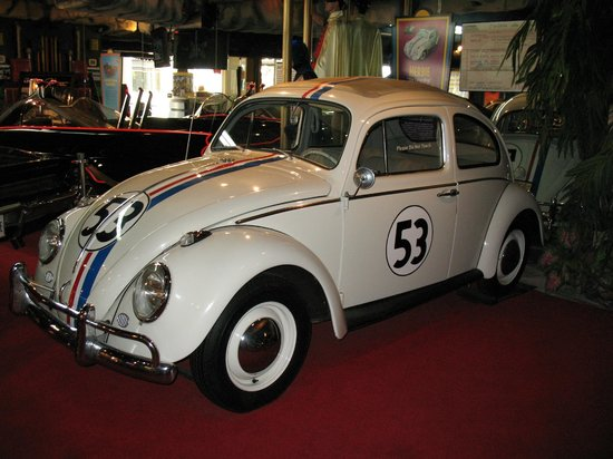Herbie From The 3rd Movie Picture Of Hollywood Star Cars Museum