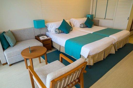 ANA InterContinental Manza Beach Resort: Bed