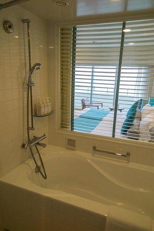 ANA InterContinental Manza Beach Resort: Shower