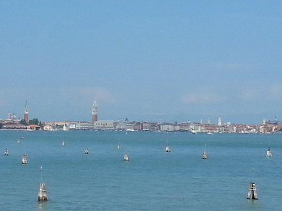 Hotel Panorama: Blick auf Venedig