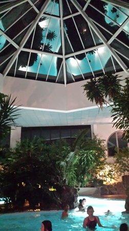 Austria Trend Eventhotel Pyramide : indoor pool