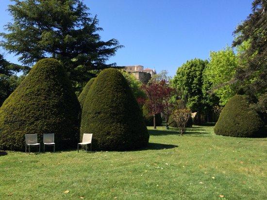 Manoir de la Roseraie : Jardin
