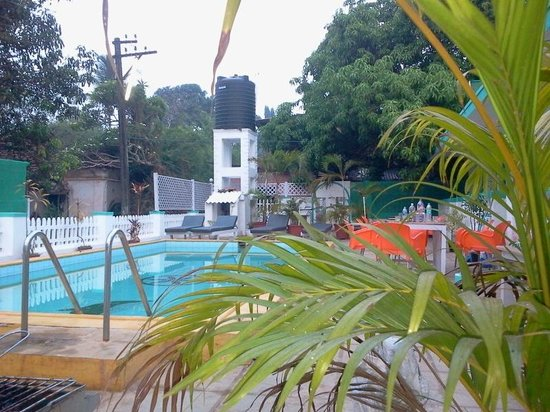 Maggie's Haven Boutique Guest House: swimming pool