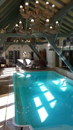 Hostellerie La Cheneaudiere - Relais & Chateaux: Piscine