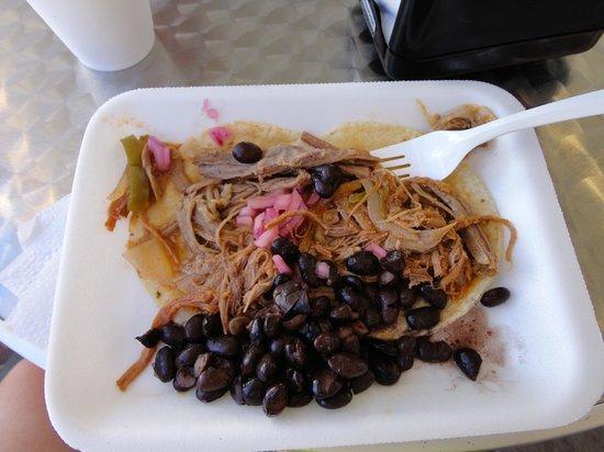 Discover Mexico Cozumel Park: Tacos that were served here
