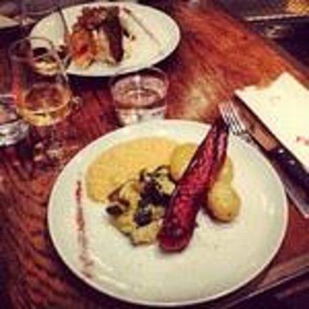 Pierre : Magret de canard rôti à la sauce chorizo