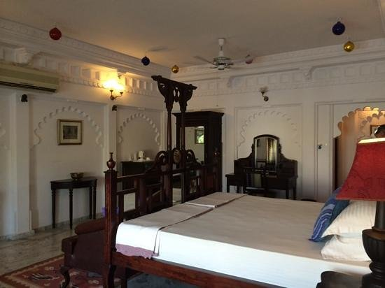 Amer Haveli -A heritage hotel. : our room
