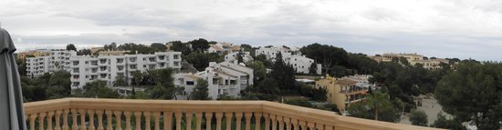 Azul Playa: View balcony