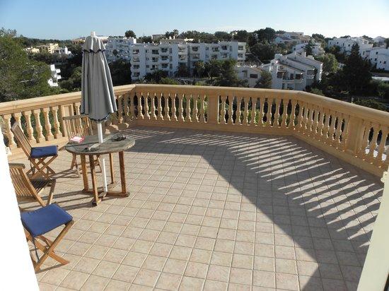 Balcony Azul Playa top flor