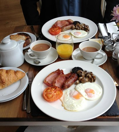 South Sands Hotel: Full English Breakfast