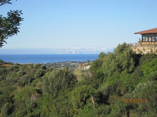 Hotel Selwo Lodge: Peñon de Gibraltar
