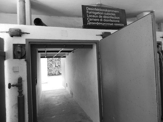 KZ-Gedenkstätte Dachau: Sala de banho
