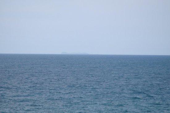 Hotel Nettuno: Insel Ventotene - gut 40 km entfernt!
