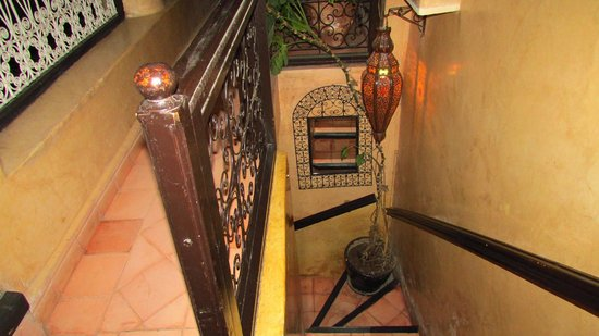 Riad du Petit Prince: Stairwell