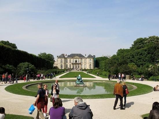 Musée Rodin : Parc du musee Rodin