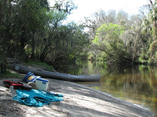 Canoe Outpost - Little Manatee River : Lunch stop