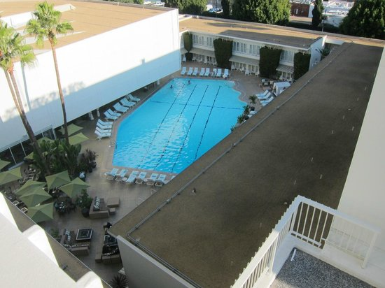 The Beverly Hilton: Pool view