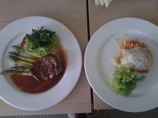 NasHotel: ужин горячее