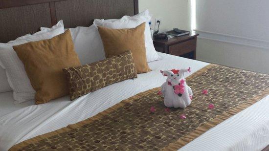 Luxury Bahia Principe Sian Ka'an: Snail towel animal...we loved these guys!