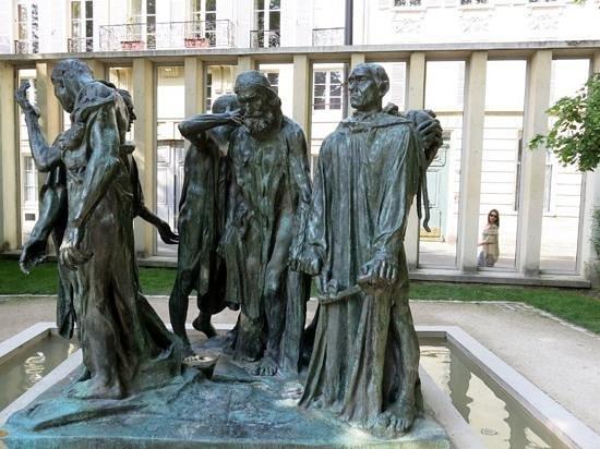 Musée Rodin : Les bourgeois de Calais