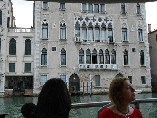 Hotel Serenissima: dal battello scorci da favola