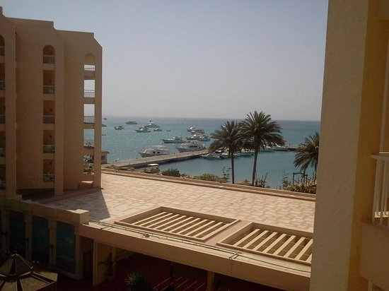 Hurghada Marriott Beach Resort: فيو تانى من الغرفة