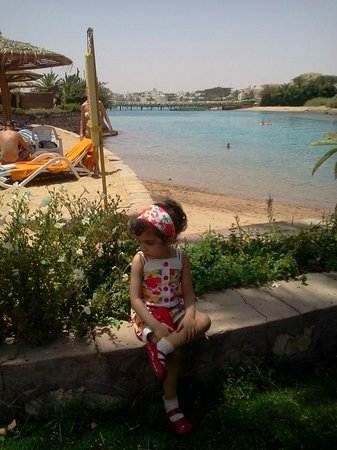 Hurghada Marriott Beach Resort: دى الجزيرة اللى فى الفندق