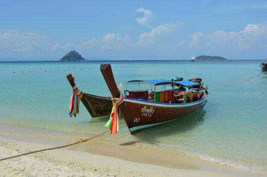 Zeavola Resort : Unser Strandbereich.