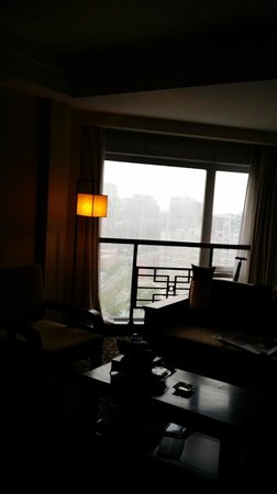 Xiyuan Hotel: view from the sitting area
