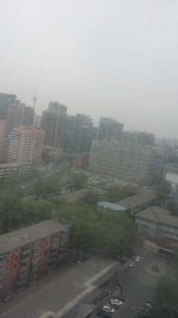 Xiyuan Hotel: View from the suite