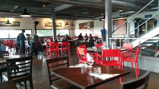 Ostalamer : La salle du restaurant
