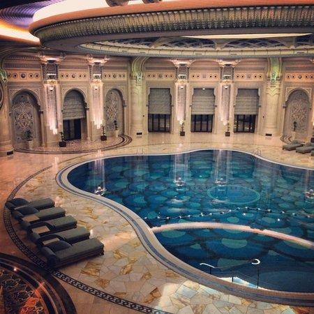Hotel lobby picture of the ritz carlton riyadh riyadh - Hotels in riyadh with swimming pools ...