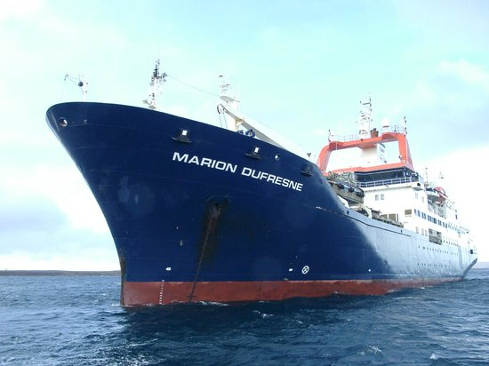 Le Marion Dufresne, seul moyen de communication vers les Iles Kerguelen