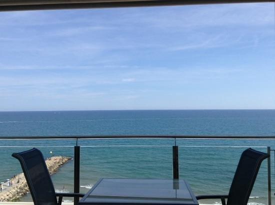 Hotel Calipolis: vue terrasse