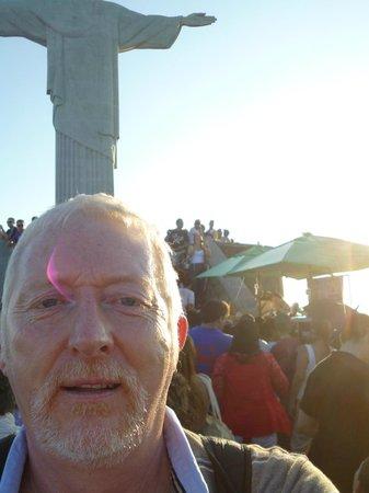 Statue du Christ Rédempteur : A Selfie I couldn't resist!