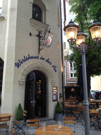 Wirtshaus In Der Au : Вход