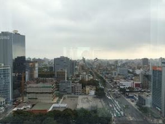 The Westin Lima Hotel & Convention Center: nice view from our room on the 13th floor