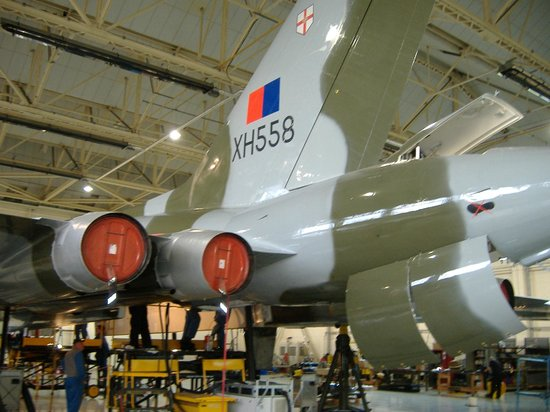 The Vulcan Experience: View of Tail