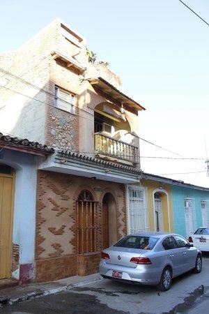 Casa Bernardo: Front door