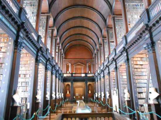The Book of Kells and the Old Library Exhibition: La tipica foto