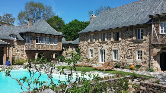 Château de Longcol : La piscine