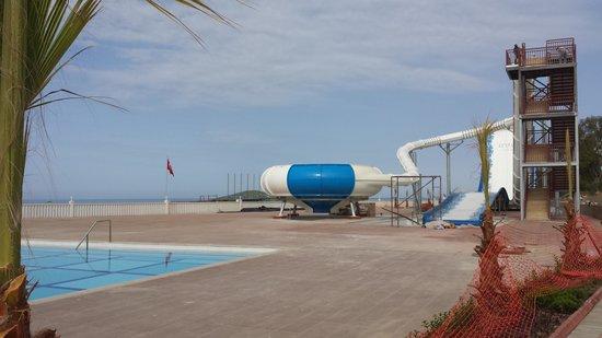 Eftalia Holiday Village: new  slides on beach