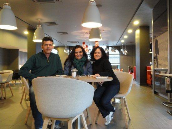 Ibis London Euston St Pancras: Restaurante do hotel