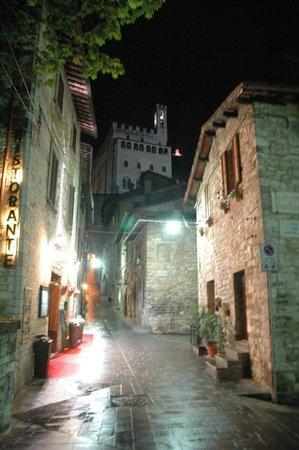Residenza di Via Piccardi: Vicolo di accesso alla struttura