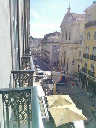 Hotel Borges Chiado : vue du balcon