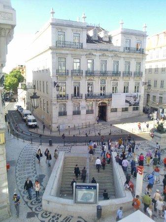 Hotel Borges Chiado : en face