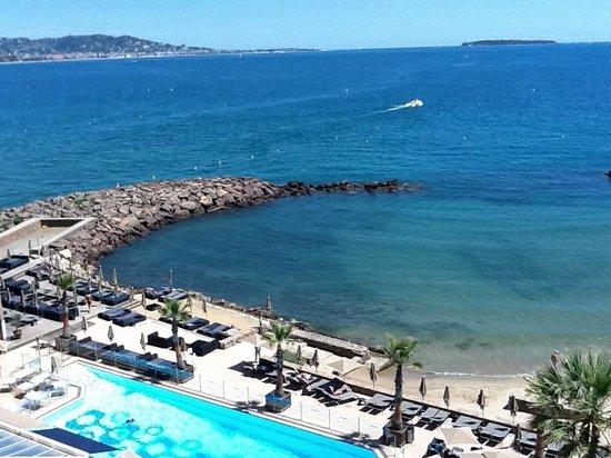 Pullman Cannes Mandelieu Royal Casino: Vue du balcon de la chambre