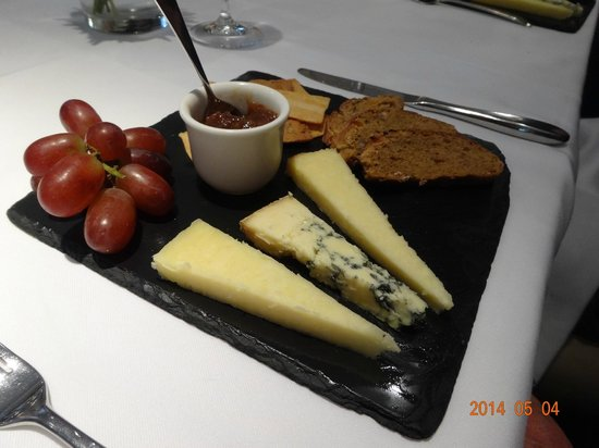 Northcote Hotel: Cheese board