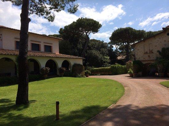 Augustus Hotel & Resort: Территория